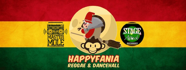 Happyfania Reggae – Stage Attack @Drake Pub