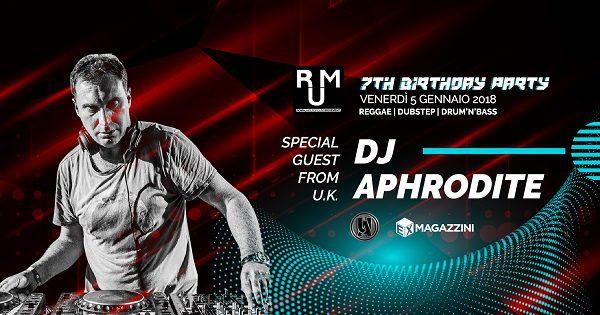 RUM with DJ APHRODITE (Uk)