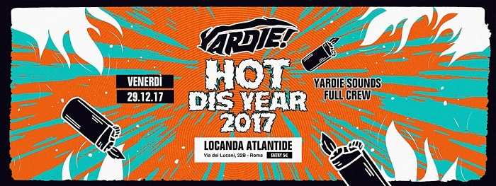 Yardie! presents: HOT this YEAR!