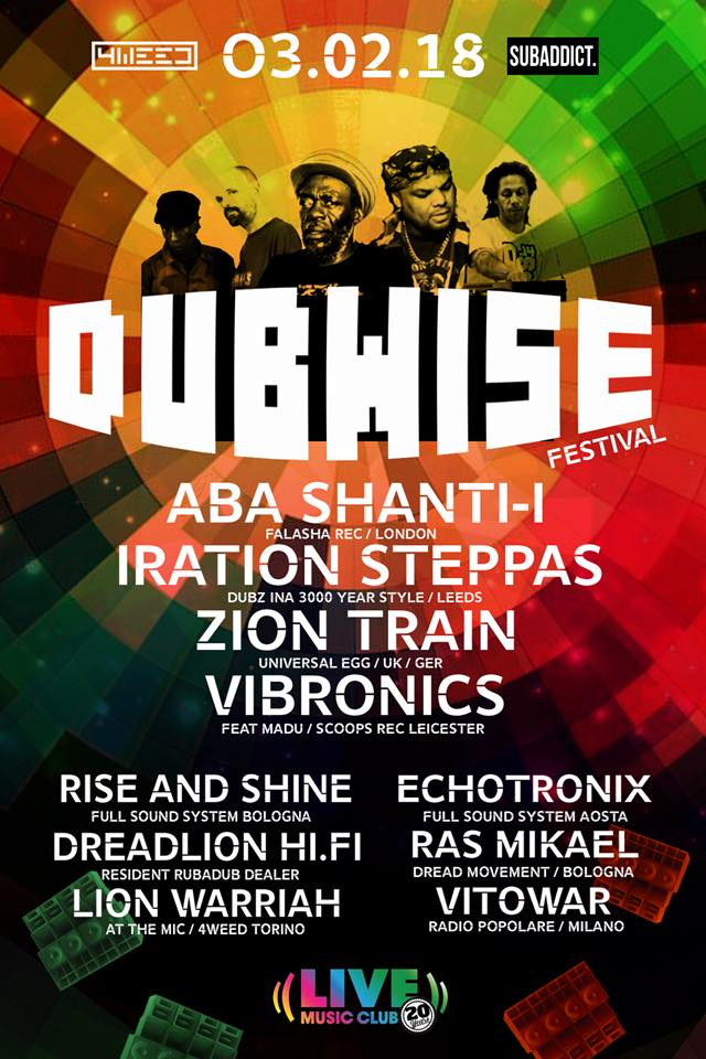 Dubwise Festival – Live Music Club
