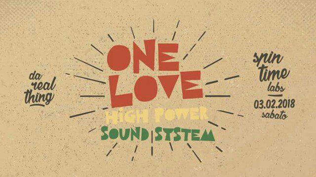 DA REAL THING ft. ONE LOVE HI POWA SOUND SYSTEM