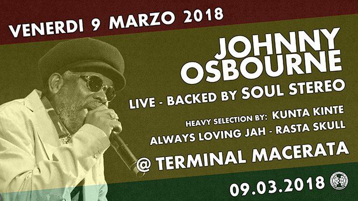 JOHNNY OSBOURNE live @ Terminal
