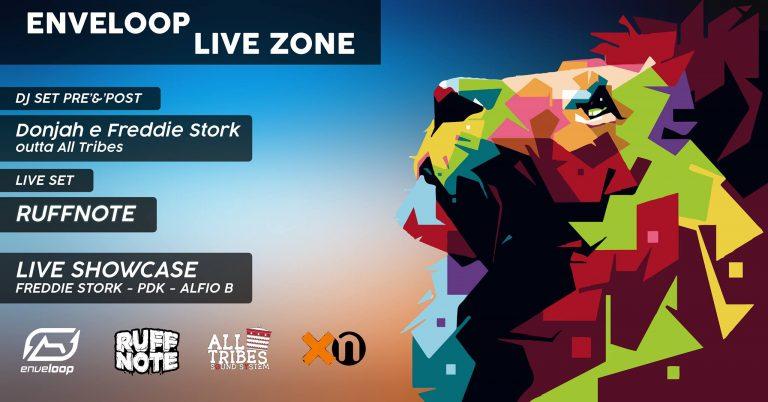 Enveloop live zone
