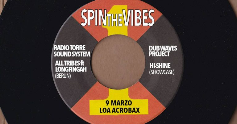 Spin the vibes, chapter 1, special guest Longfingah
