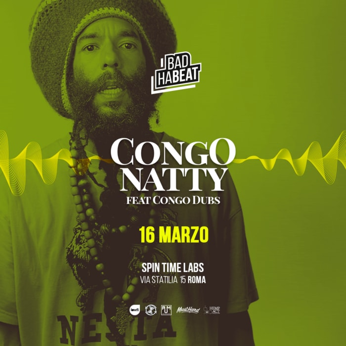 CONGO NATTY Live a ROMA pre&aftershow by RUM