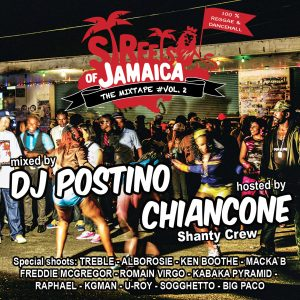 STREETS OF JAMAICA - THE MIXTAPE VOL.02 by Heart on Fire sound 2021 Italia, Mixtape, New Release