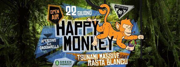 HAPPY Monkey / ROMA / 22 Giugno / AperiTrench – Rasta Blanco (Radici nel Cemento) & Tsunami Massive – ROMA YOUTH VETERAN TOUR