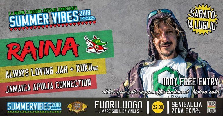 #SummerVibes RAINA outta VillaAda al Fuoriluogo FREEENTRY