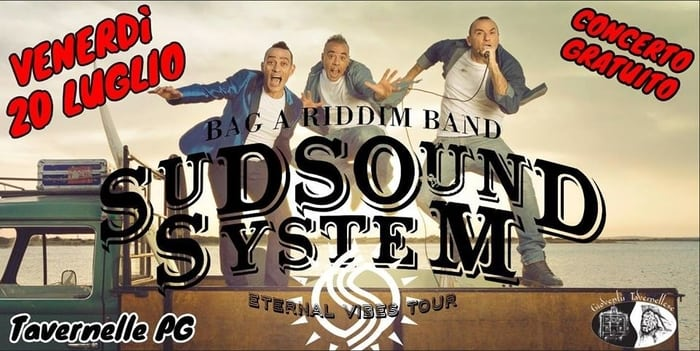 Sud Sound System & Bag a Riddim band X Palio Tavernelle (Pg)