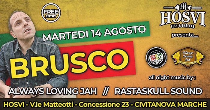BRUSCO Live @ Chalet Hosvi // FREE ENTRY!
