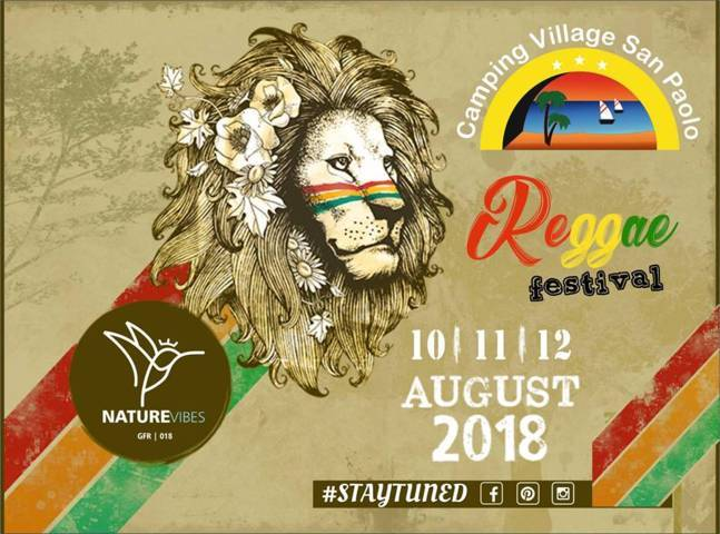 Reggae Festival 2018 – Camping San Paolo (KR)