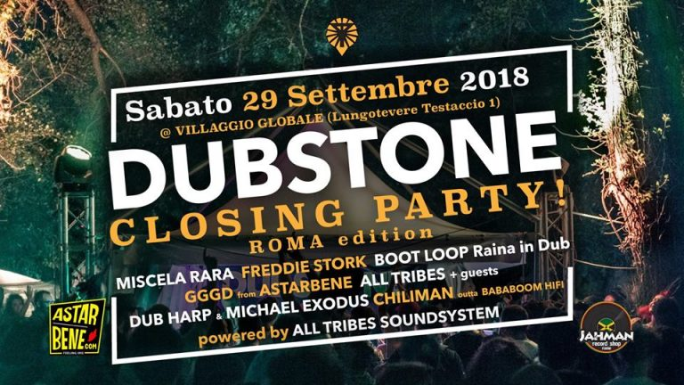 Dubstone Closing Party – Roma edition