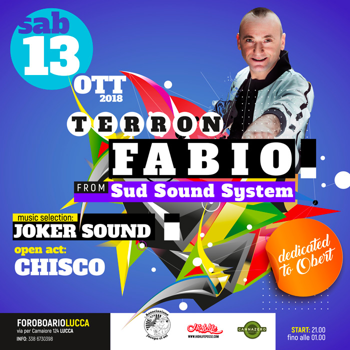 TERRON FABIO (from Sud Sound System) / CHISCO / JOKER SOUND