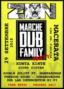 Marche Dub Family Party – Kunta Kinte Sound System at ZION MC