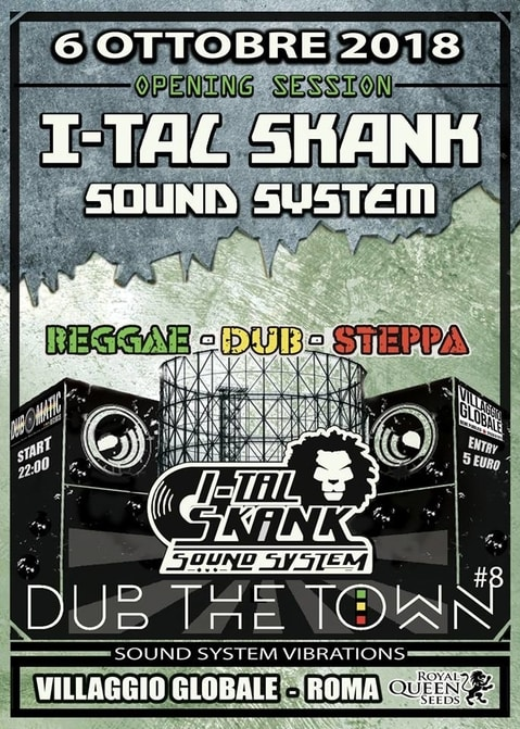 I-tal Skank Sound System / Dub the Town#8 – OPENING SESSION