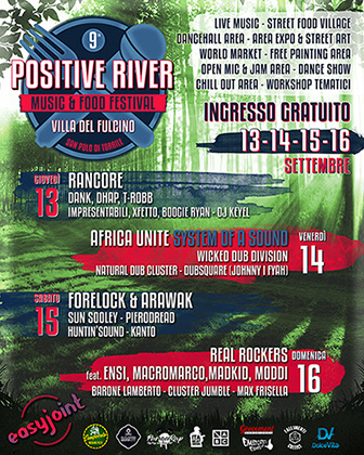 Positive River Festival 2018 – Free entry