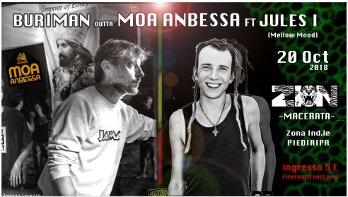 Buriman outta MOA Anbessa ft Jules I – @ZION Macerata