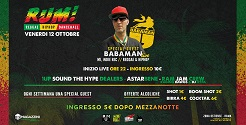 Babaman Live Show + Rum After Party