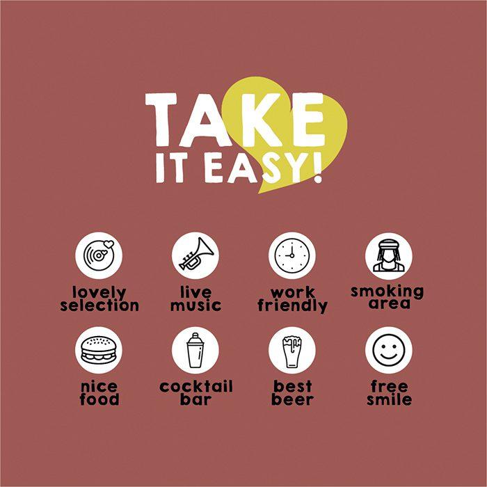 Take It Easy '18 – ' 19 | Just Take a look! Cloaca, Rudie & Aidenjah