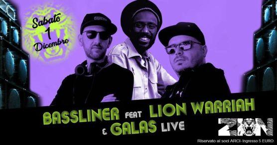 BASSLINER feat. LION Warriah & GALAS @ZION – Macerata
