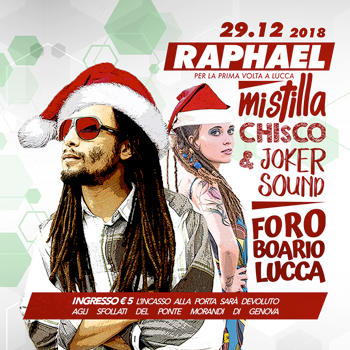 Xmas Party w./ Raphael & Mistilla ls. Chisco & Joker Sound