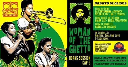 """Woman of the Ghetto """"Horns Session 2"""""""
