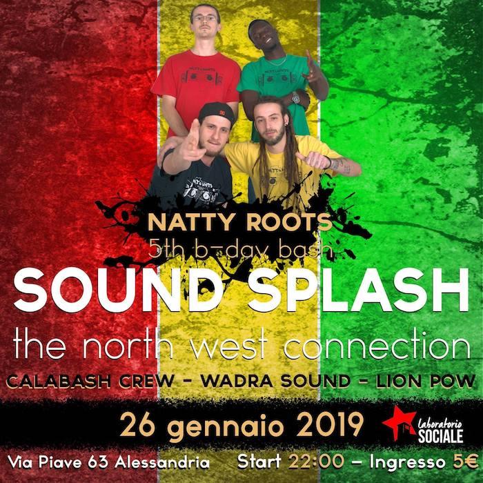 Sound Splash – Natty Roots 5th b-day bash