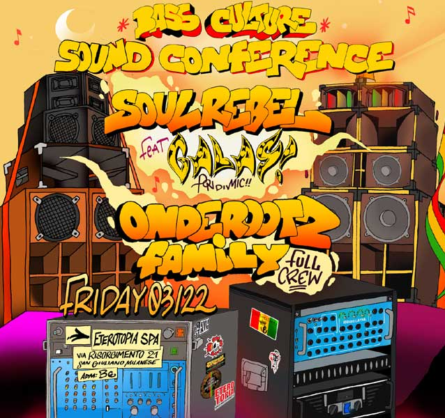 Jamboree Dancehall Party! Bass Culture Sound Conference!