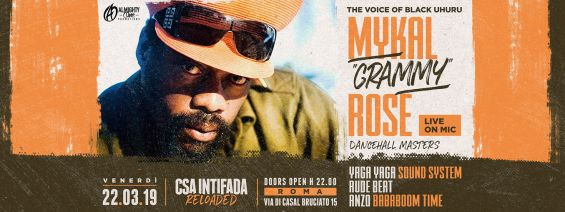 MYKAL ROSE | Live from Jamaica ★ CSA Intifada
