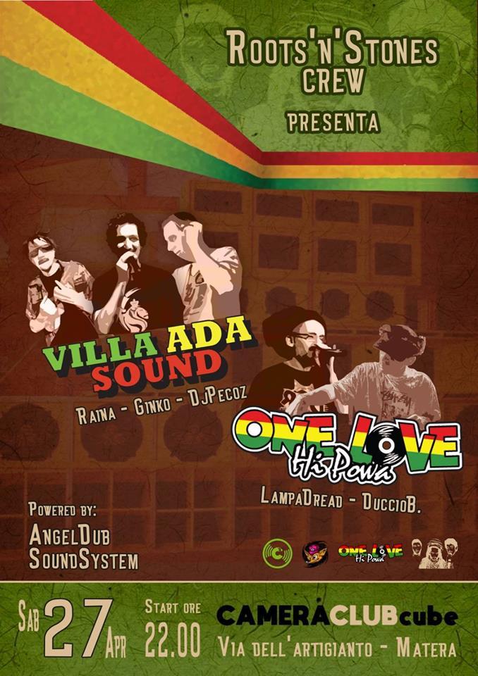 Roots 'n' Stones meets One Love Hi Powa & Villa Ada Sound