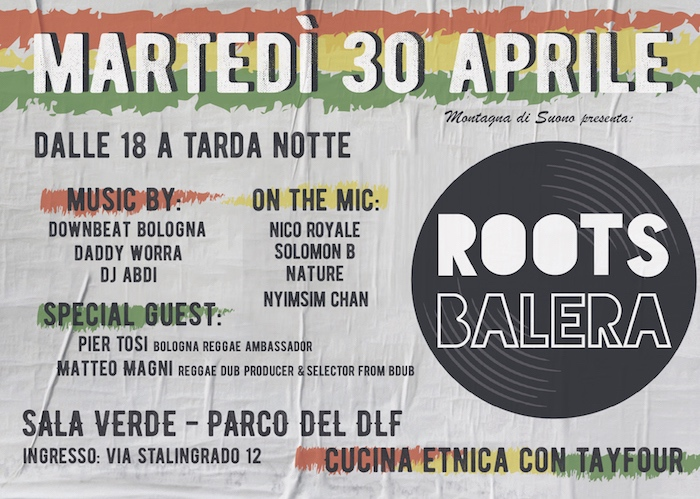Roots Balera – new location – Sala Verde parco DLF