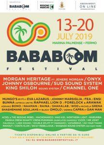 Bababoom Festival a luglio nelle Marche 2021 Dub, News