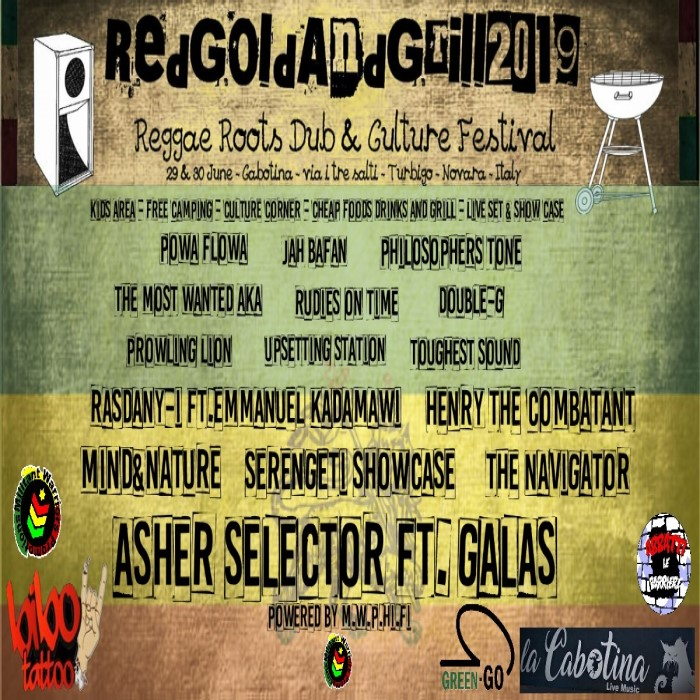 RED GOLD AND GRILL FESTIVAL 2019