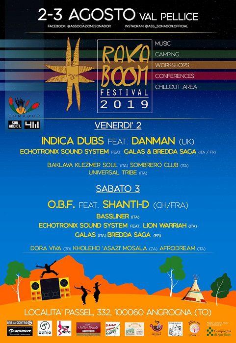 RakaBoom Festival Indica Dubs e O.B.F