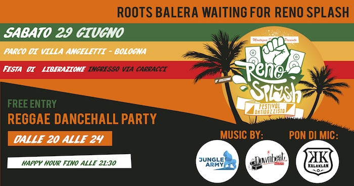 Roots Balera waiting for Reno Splash