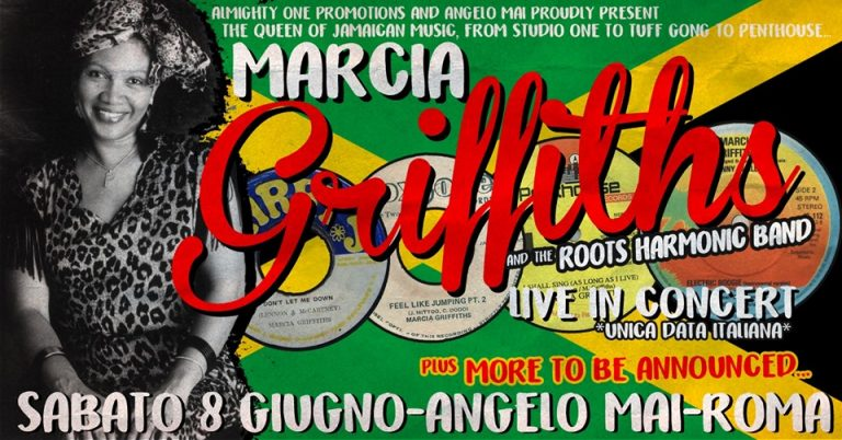 MARCIA GRIFFITHS LIVE IN ROME *UNICA DATA*
