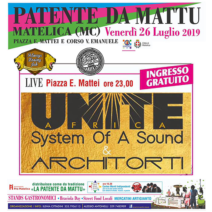 AFRICA UNITE & Architorti Live // FREE ENTRY