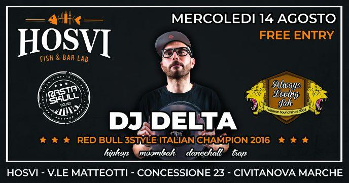 Ferragosto 2k19 \DJ Delta\ Red Bull Thre3Style Italian Champion
