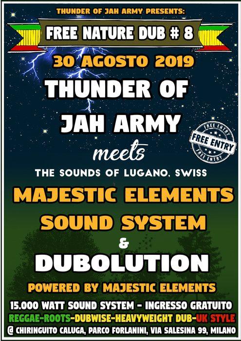 Free Nature DUB #8 – T.J.A, Majestic Elements, Dubolution