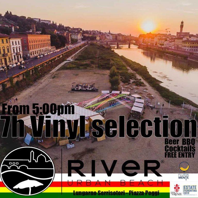 7h vinyl set by jah station@urbam river beach