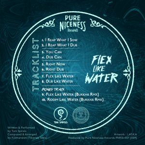 Tiberias Towa meets Tom Spirals - Flex Like Water 2021 Dub Release, New Release