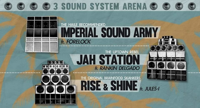 Imperial SOUND ARMY / JAH Station / RISE & SHINE at Sottotetto