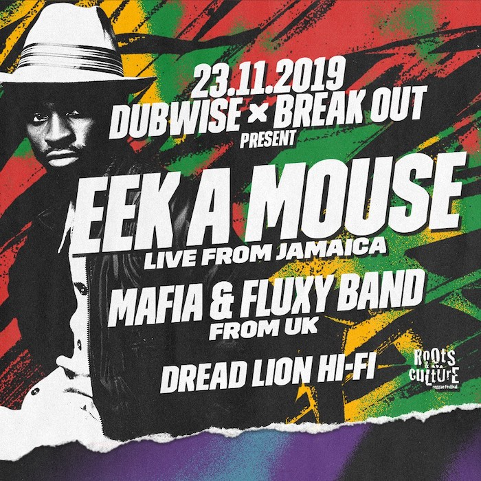 Eek A Mouse w/ Mafia & Fluxy — Fracture, Sully & Moresounds