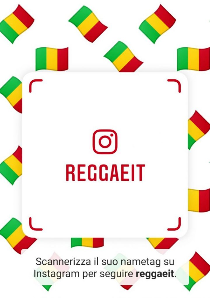 Reggae.it anche su Instagram 2021 News