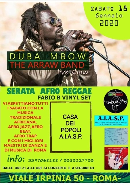 Duba & The Arraw Band LIVE