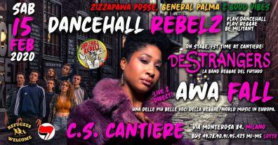 Awa Fall / De Strangers w/ Dancehall Rebelz @Cantiere
