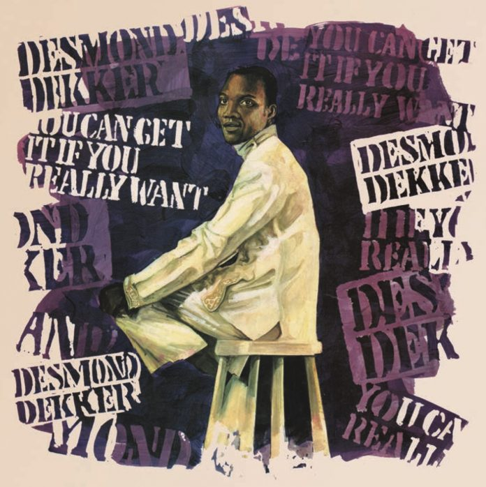 DESMOND DEKKER 'YOU CAN GET IT IF YOU REALLY WANT' TROJAN LP 1970 front