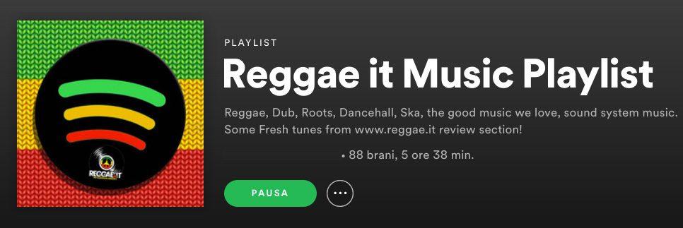 Spotify Reggae it Music Playlist 2021 News