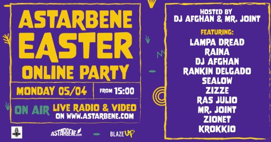ASTARBENE EASTER online party by BLAZE UP