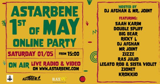 ASTARBENE 1st of may ONLINE PARTY by BLAZE UP